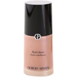 Armani Fluid Sheer élénkítő make-up árnyalat 03 Copper 30 ml