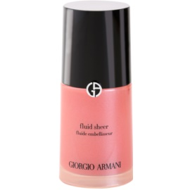Armani Fluid Sheer озаряващ фон дьо тен цвят 06 Blossom 30 мл.