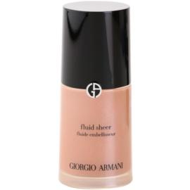 Armani Fluid Sheer élénkítő make-up árnyalat 10 Gold 30 ml