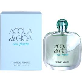 Armani Acqua di Gioia Eau Fraiche Eau de Toilette para mulheres 100 ml