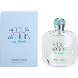 Armani Acqua di Gioia Eau Fraiche toaletní voda pro ženy 50 ml