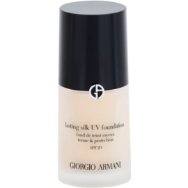 Armani Lasting Silk UV maquillaje de larga duración SPF 20 tono 4,5 30 ml