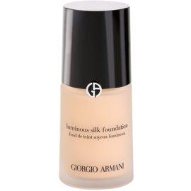 Armani Luminous Silk Foundation fluid make-up árnyalat 02 Ivory 30 ml