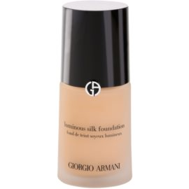 Armani Luminous Silk Foundation fluid make-up árnyalat 4 Light Sand 30 ml