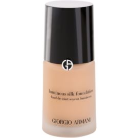 Armani Luminous Silk Foundation fluid make-up árnyalat 4,5 Sand 30 ml