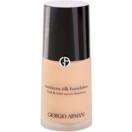 Armani Luminous Silk Foundation fluid make-up árnyalat 5 Warm Beige 30 ml