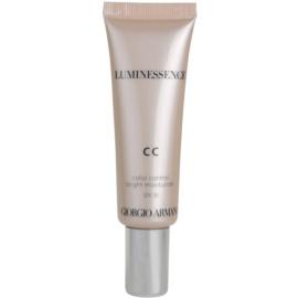 Armani Luminessence CC озаряващ СС крем цвят 01 (SPF 35) 30 мл.