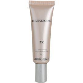 Armani Luminessence CC élénkítő CC krém árnyalat 01 (SPF 35) 30 ml