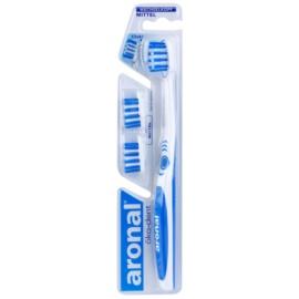 Aronal Dental Care zubní kartáček + 2 náhradní hlavice medium
