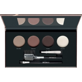 Artdeco Let's Talk About Brows Most Wanted Palette mit pudrigen Augenbrauenschatten Farbton 58282.4 Medium/Dark 4 x 1,8 g