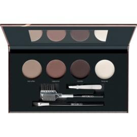 Artdeco Let's Talk About Brows Most Wanted Palette mit pudrigen Augenbrauenschatten Farbton 58282.4 Medium/Dark 4 x 1,8 g