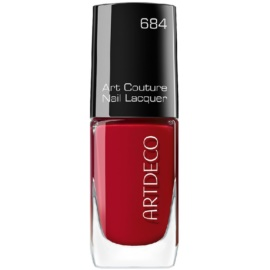 Artdeco Art Couture Nail Lacquer lak na nehty odstín 111.684 Couture Lucious Red 10 ml