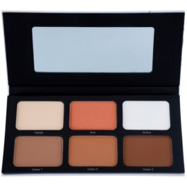Artdeco Most Wanted palette contouring colore 2 Warm 6 x 4,3 g