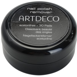 Artdeco Nail Polish Remover blazinice za odstranjevanje laka za nohte brez acetona  30 kos