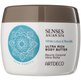 Artdeco Asian Spa Skin Purity manteiga corporal extra-nutritiva White Lotus & Rice Milk 200 ml