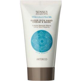 Artdeco Asian Spa Skin Purity tiefenwirksame regenerierende Creme und Maske für die Hände  75 ml