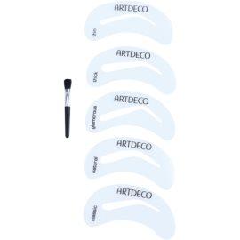 Artdeco Eye Brow Stencil štětec na obočí se šablonami