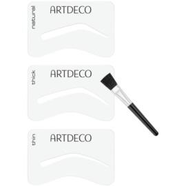 Artdeco Eye Brow Stencil pędzelek do brwi z szablonami