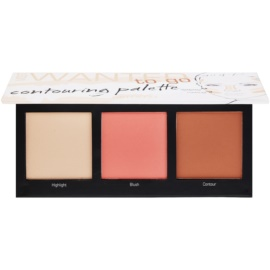 Artdeco Most Wanted To Go Contouring Palette  Tint  59012.4 3 x 5,2 gr