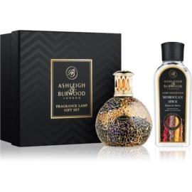 Ashleigh & Burwood London Golden Sunset zestaw upominkowy I. (Moroccan Spice) lampa 11 x 8 cm + napełnienie 250 ml