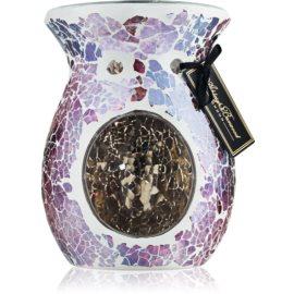 Ashleigh & Burwood London Shimmering Rose Glass Aroma Lamp