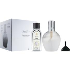 Ashleigh & Burwood London White Geschenkset I. (Fresh Linen) Lampe 17 x 9,5 cm + Nachfüllung 180 ml