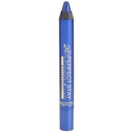 Astor Perfect Stay 24H očné tiene a ceruzka na oči vodeodolné odtieň 220 Dark Blue  4 g