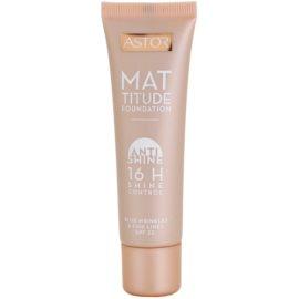 Astor Mattitude Anti Shine Matterende Make-up  Tint  400 Amber 30 ml