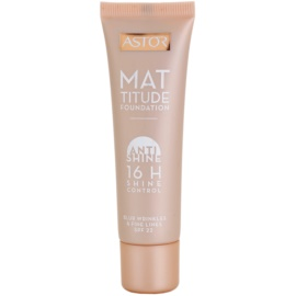 Astor Mattitude Anti Shine matující make-up odstín 400 Amber 30 ml