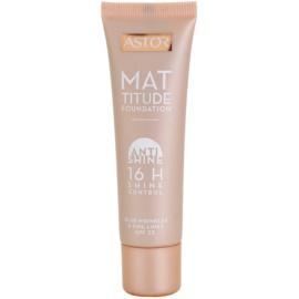Astor Mattitude Anti Shine podkład matujący podkład matujący odcień 400 Amber 30 ml