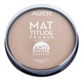 Astor Mattitude Anti Shine poudre matifiante teinte 004 Sand  14 g