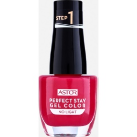 Astor Perfect Stay Gel Color gel lak za nohte brez uporabe UV/LED lučke odtenek 016 Luxurious 12 ml