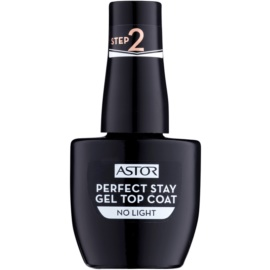 Astor Perfect Stay Gel Top Coat smalto gel top coat senza lampada UV/LED  001 12 ml