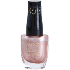 Astor Quick & Shine rychleschnoucí lak na nehty odstín 103 Sweet Home 8 ml