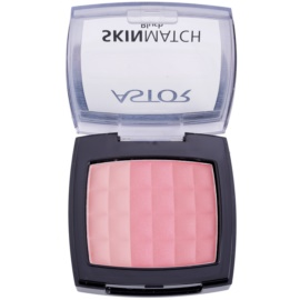 Astor SkinMatch blush trio culoare 002 Peachy Coral  8,25 g