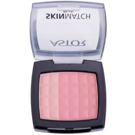 Astor SkinMatch blush trio teinte 002 Peachy Coral  8,25 g