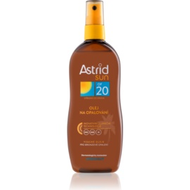 Astrid Sun олійка-спрей для засмаги SPF 20  200 мл