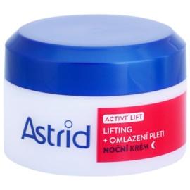 Astrid Active Lift liftinges bőrkisimító éjszakai krém  50 ml