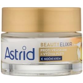 Astrid Beauty Elixir tápláló éjszakai krém a ráncok ellen  50 ml
