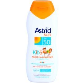 Astrid Sun Kids Bräunungsmilch für Kinder SPF 50  200 ml