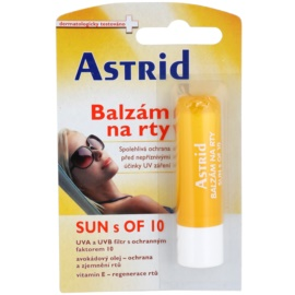 Astrid Sun balzám na rty SPF 10  4,8 g