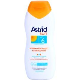 Astrid Sun leite after sun hidratante  SPF 6   200 ml