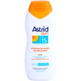 Astrid Sun hydratační mléko na opalování SPF 15  200 ml