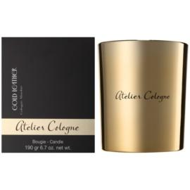 Atelier Cologne Gold Leather dišeča sveča  190 g