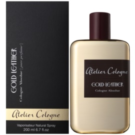 Atelier Cologne Gold Leather Parfüm unisex 200 ml