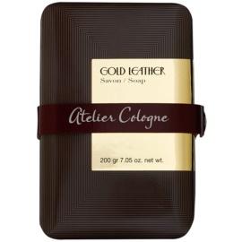 Atelier Cologne Gold Leather Parfümierte Seife  unisex 200 g