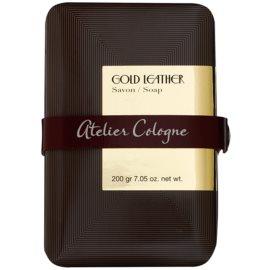 Atelier Cologne Gold Leather parfümös szappan unisex 200 g