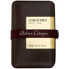 Atelier Cologne Gold Leather mydło perfumowane unisex 200 g