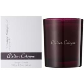 Atelier Cologne Orange Sanguine ароматизована свічка  190 гр