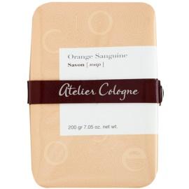 Atelier Cologne Orange Sanguine parfémované mýdlo unisex 200 g